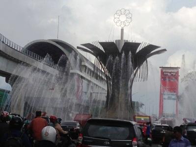 0 km kota Palembang