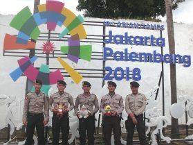 Polisi Dukung Asian Games 2018